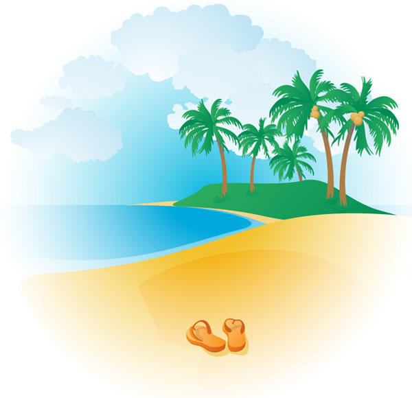16 Tropical Vector Design Images