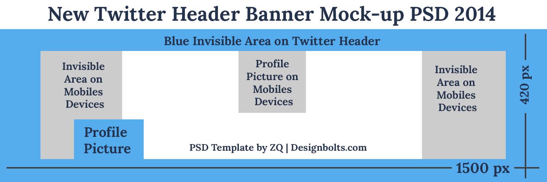 13 2014 Twitter Header PSD Images