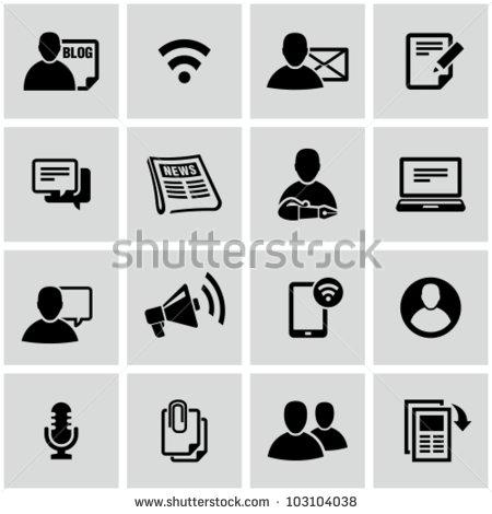 Universal Social Media Icons Vector
