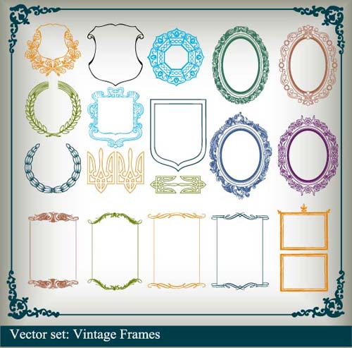 Vector Border Frame Free Download