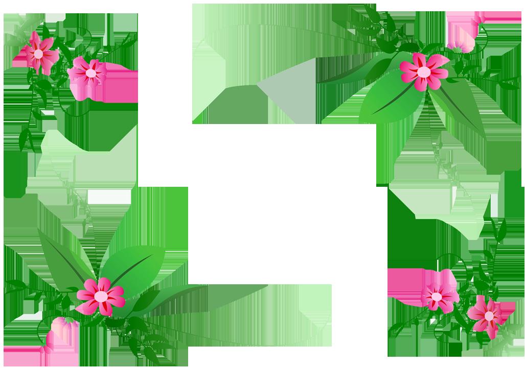 15 Floral Corner Vector Png Images - Elegant Flower Corner ...