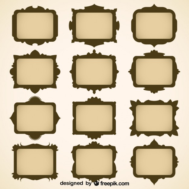 Vector Frames Free Download