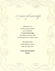 50th Anniversary Invitation Templates Free 13 25th Wedding Program Template Images Vow Renewal