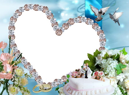 Wedding Frame Photoshop Free Download