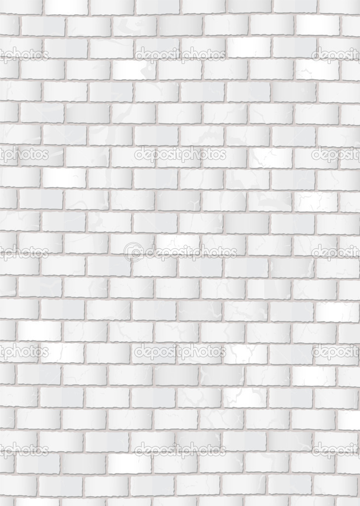 10 white brick wall vector images black and white brick for White brick wall