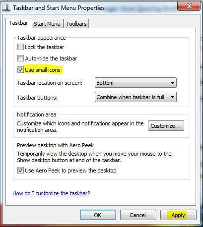 8 Change Taskbar Icons Windows 7 Images