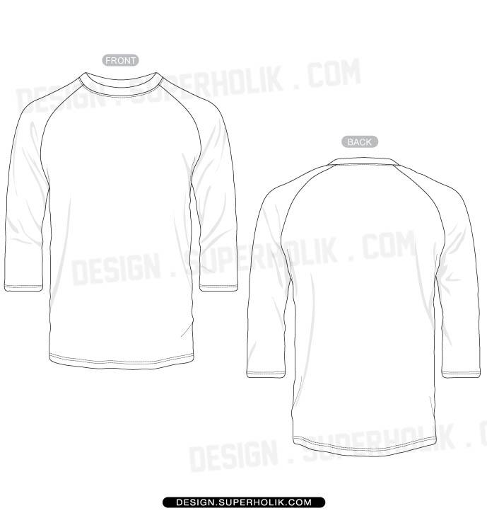 15 Baseball T Shirt Template Vector Images Photoshop Psd