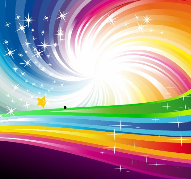 Abstract Rainbow Vector Free