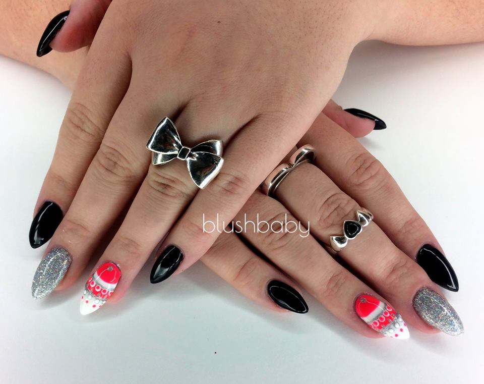 Old Fashioned Almond Nail Designs 2015 Images - Nail Art Design ...
