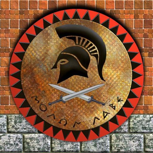 Ancient Spartan Shield Designs