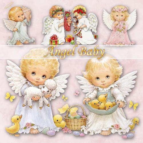 Angel Babies Clip Art