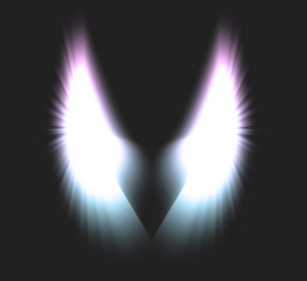 Angel Wings PSD Template