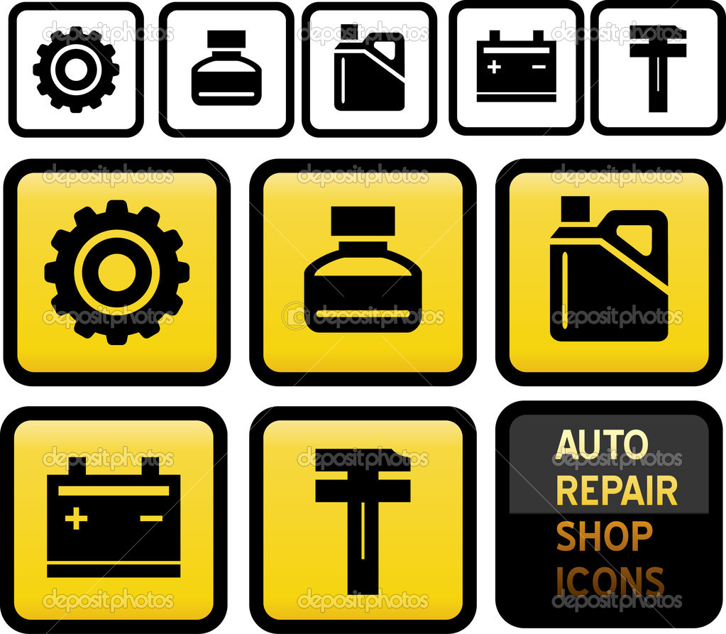 12 Best Auto Repair Icons Images
