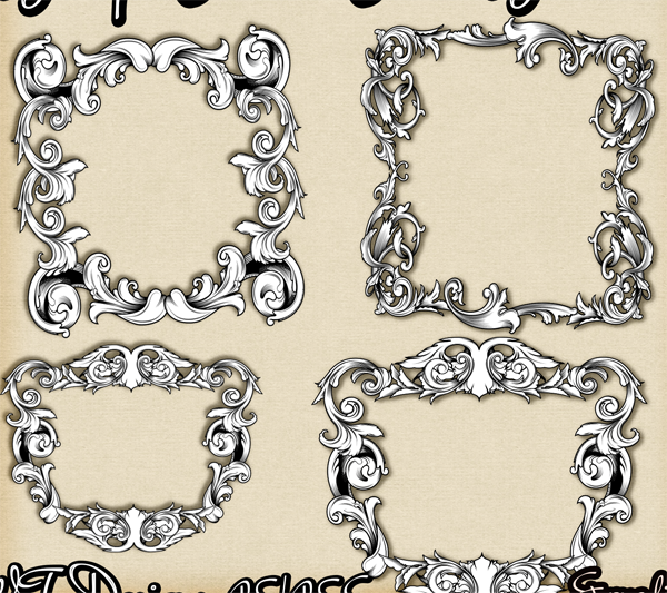 Baroque Flourish Frame