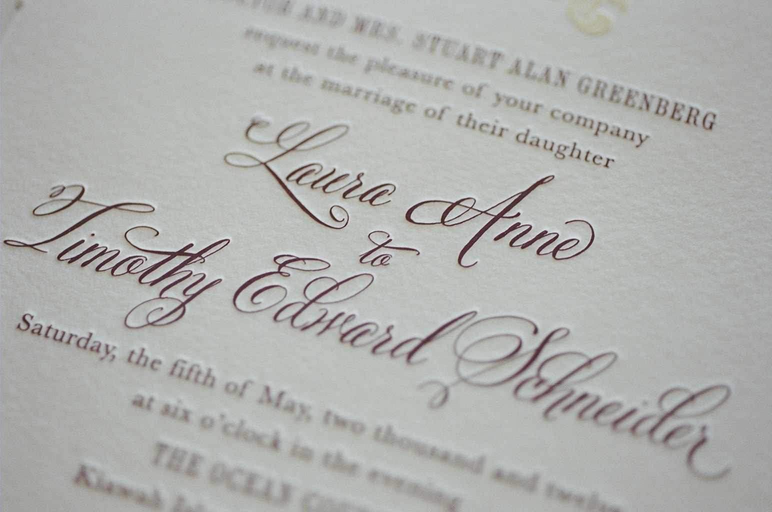 Good Wedding Invitation Fonts: 9 Elegant Fonts For Wedding Invitations Images