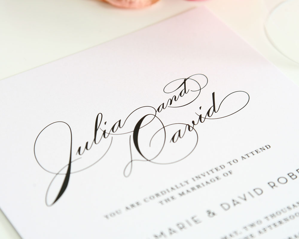9 elegant fonts for wedding invitations images elegant wedding - Fonts For Wedding Invitations