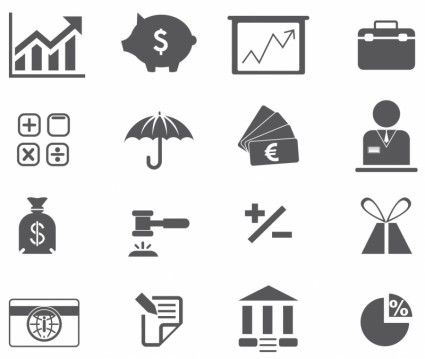 Black and White Icons Free