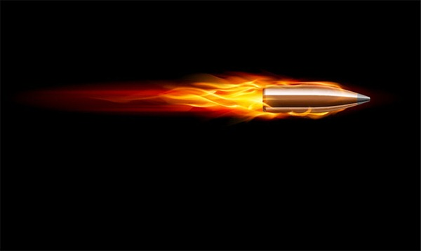 10 Speeding Bullet Vector Images