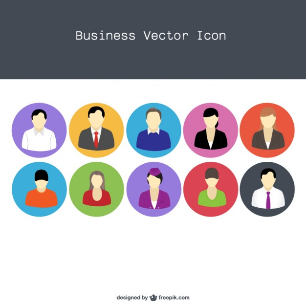 12 Vector Professional People Icon Images