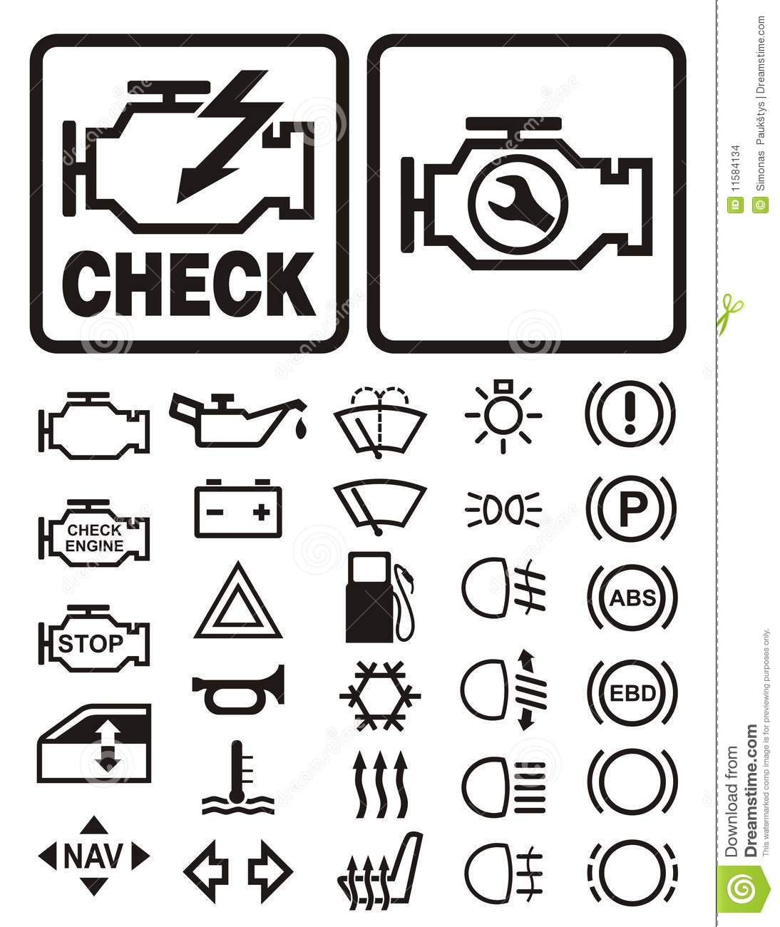 11 car dashboard symbols icons images car dashboard icons car dashboard warning lights symbols buycottarizona Images