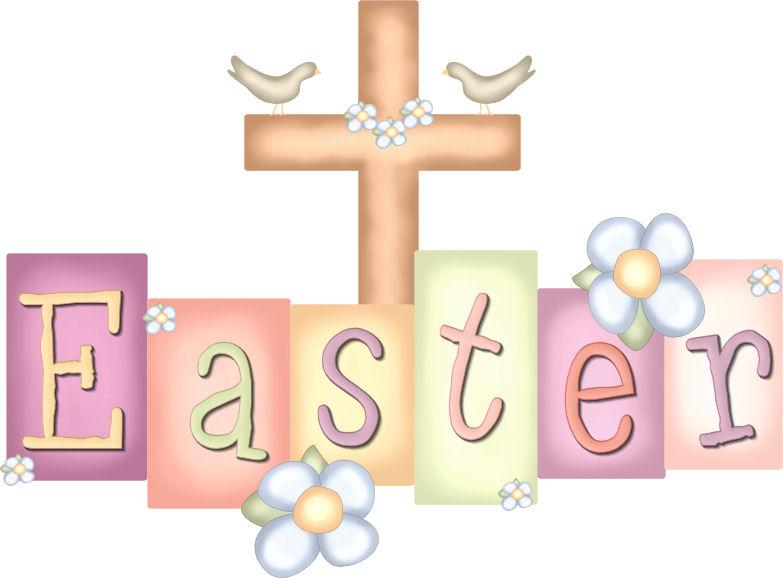 Christian Religious Easter Clip Art