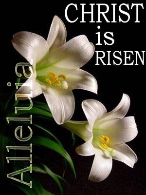 Christian Religious Easter He Has Risen