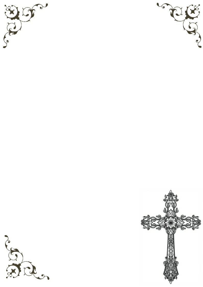 Crosses Free Religious Borders Clip Art