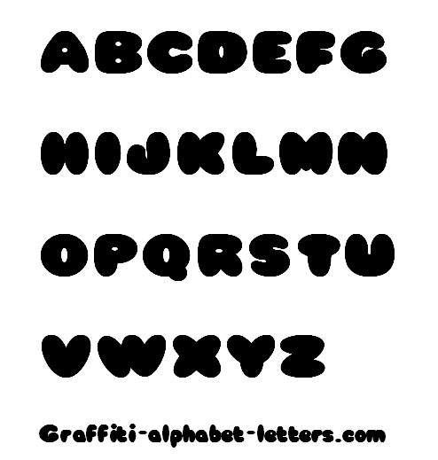 Cute Bubble Letter Fonts