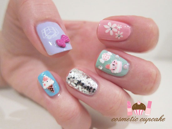 Cute Nail Art For Birthday The Best Inspiration For Design And