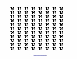 Disney Printable Alphabet Letters