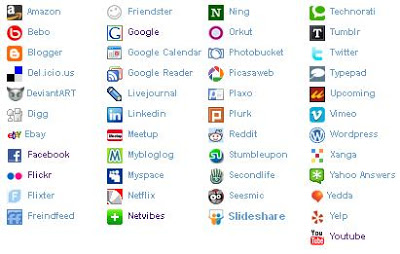 7 Email Signature Social Media Icons Images - Free Round