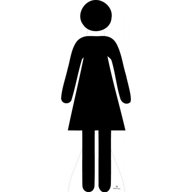 Female Silhouette Icon