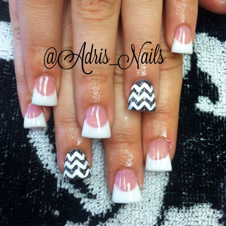 Flared Acrylic Nails