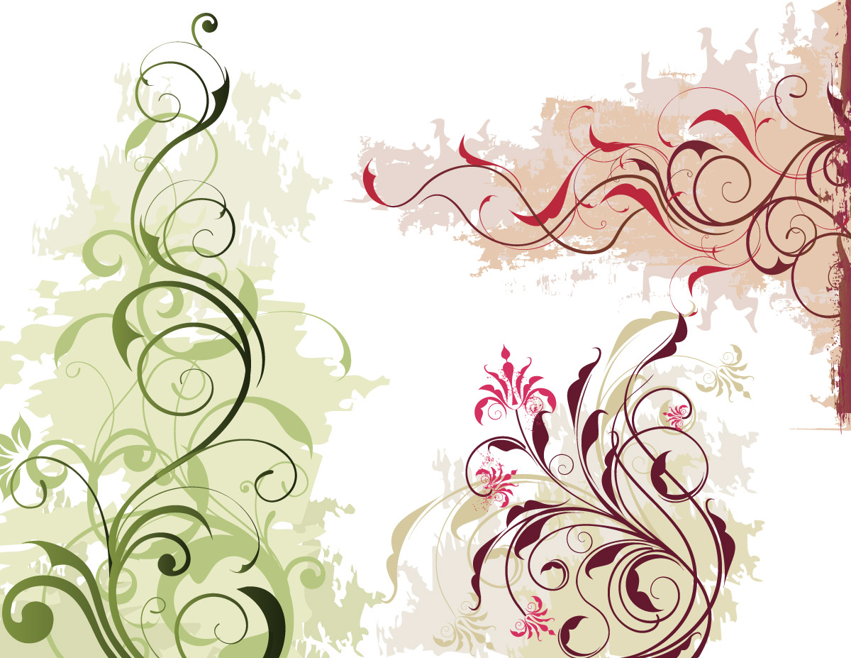 17 Vector Floral Ornament Images