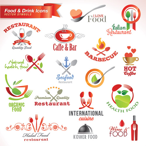 Food and Drink Symbols