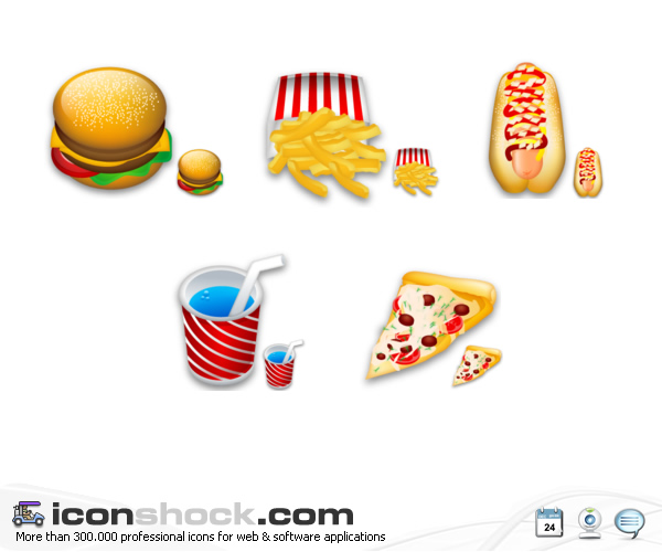 16 Famous Food Icons Images