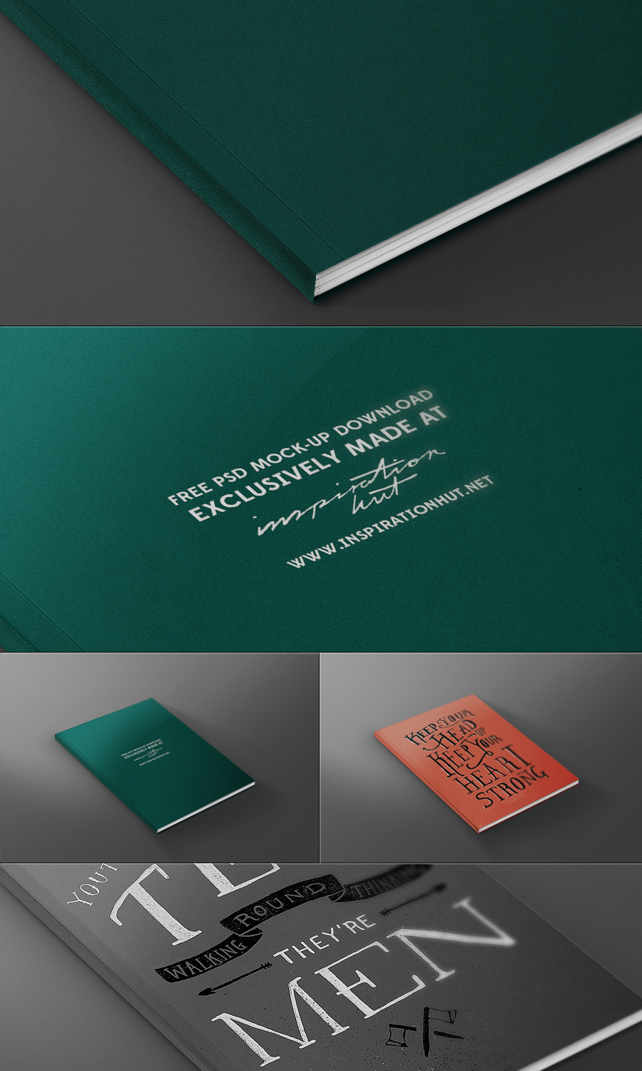 Free 3D Magazine Cover Template PSD