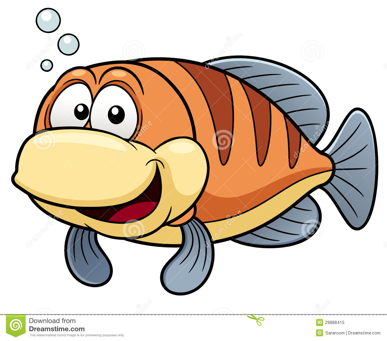 Free Cartoon Fish