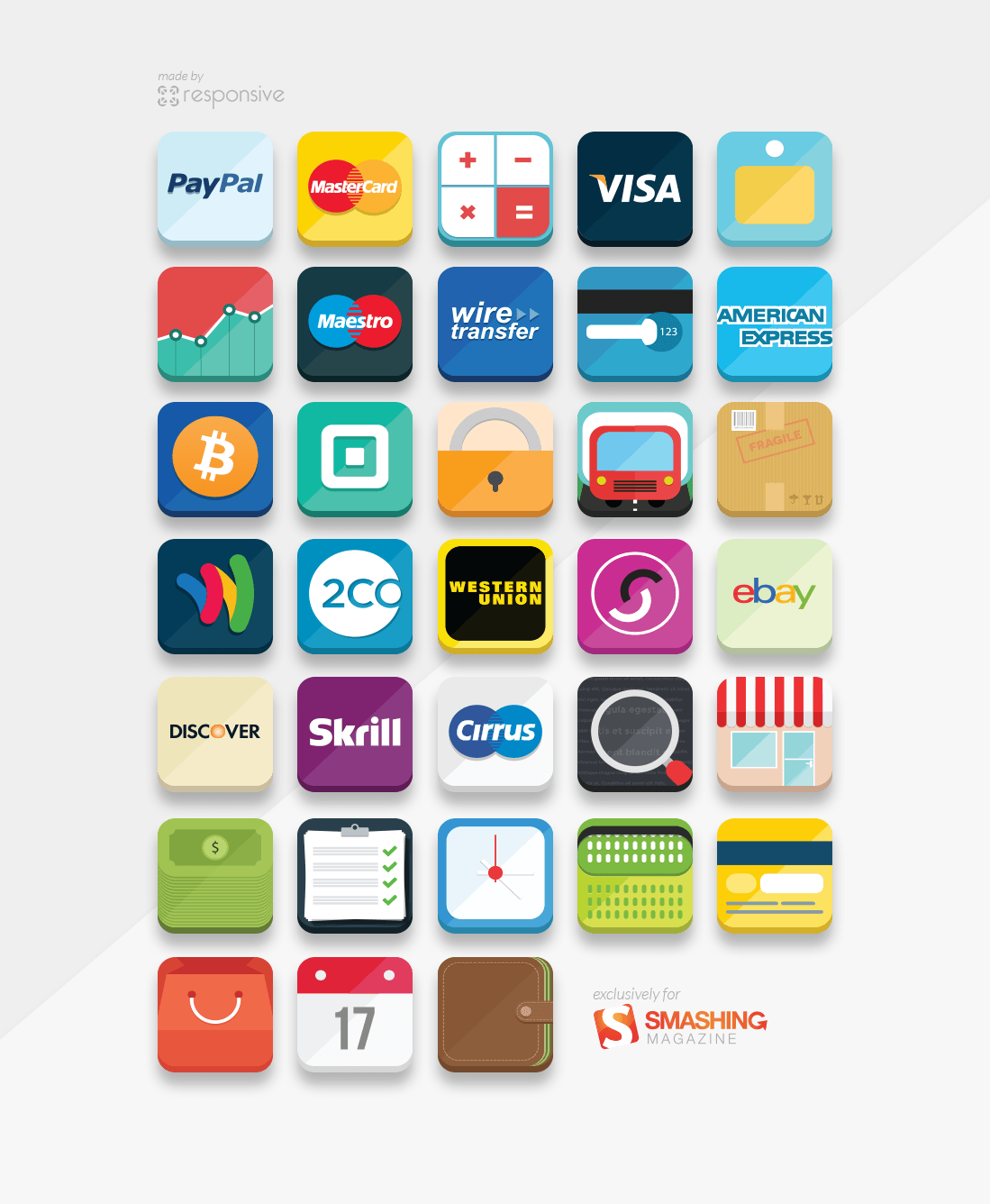 12 E-Commerce Icon Set PNG Images