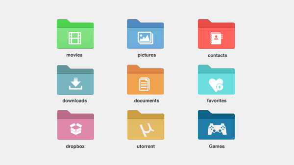 Free Folder Icons Windows 8