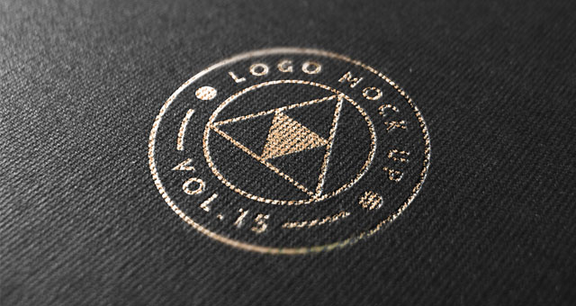 13 Mock Up PSD Logo Template Images