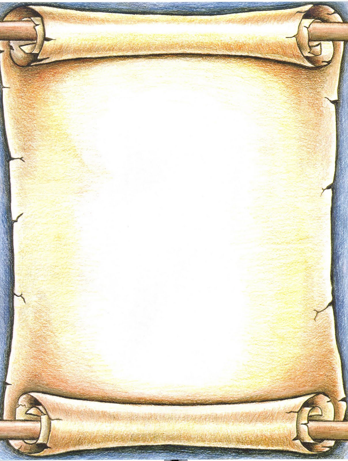 Free Scroll Borders Clip Art