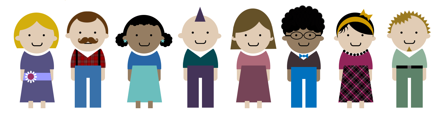 Free Vector Illustrations of People
