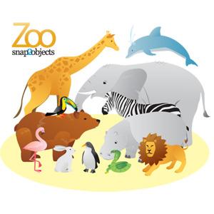 Free Vector Zoo Animals