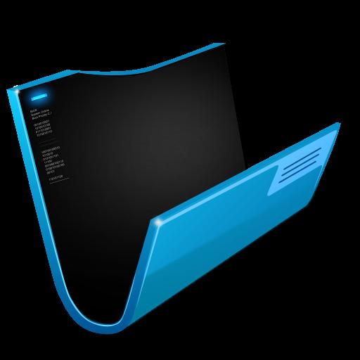 Futuristic Folder Icon