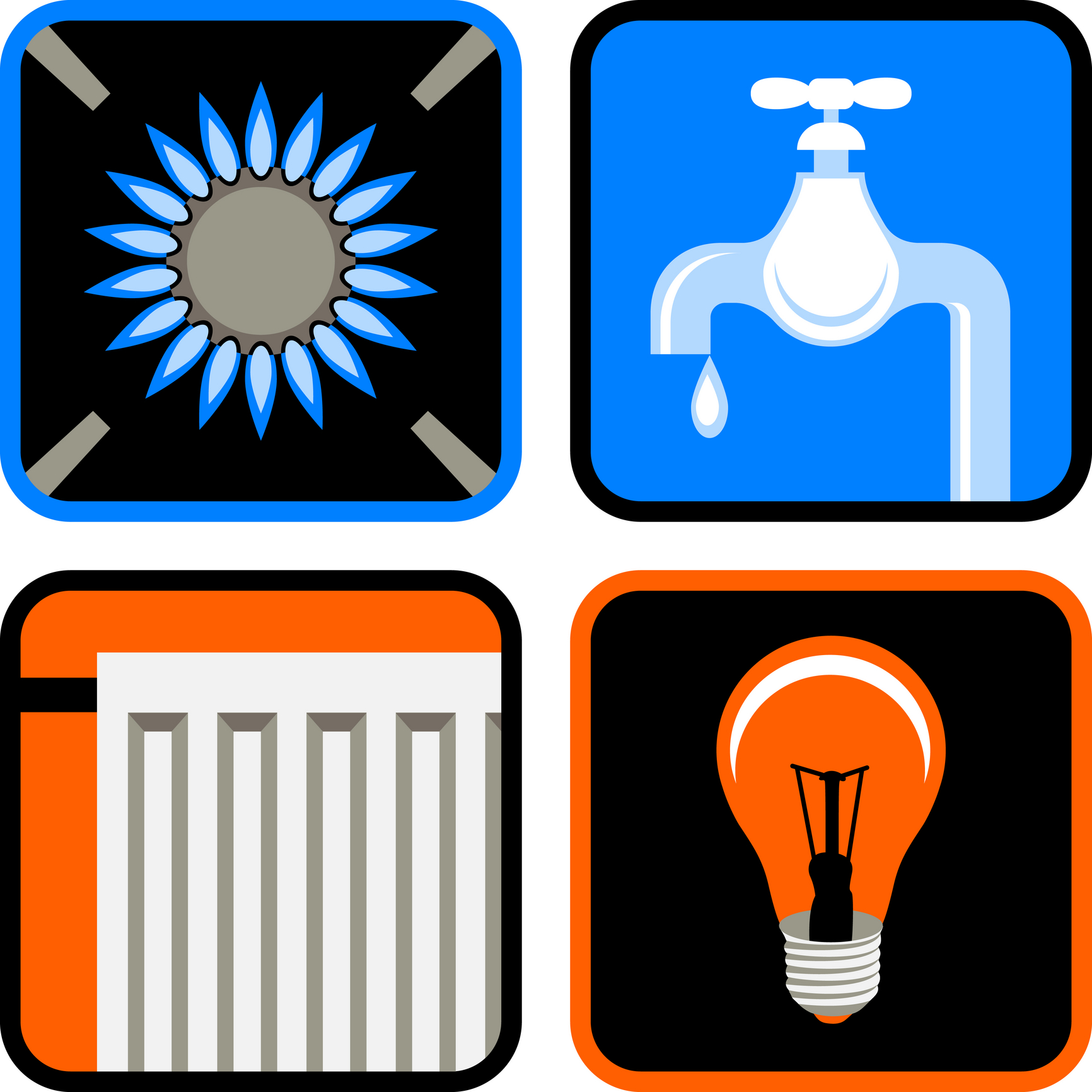 15 House Utilities Icon Images