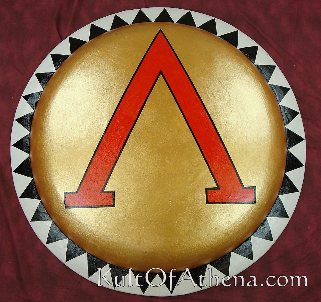 Greek Hoplite Shields Spartans