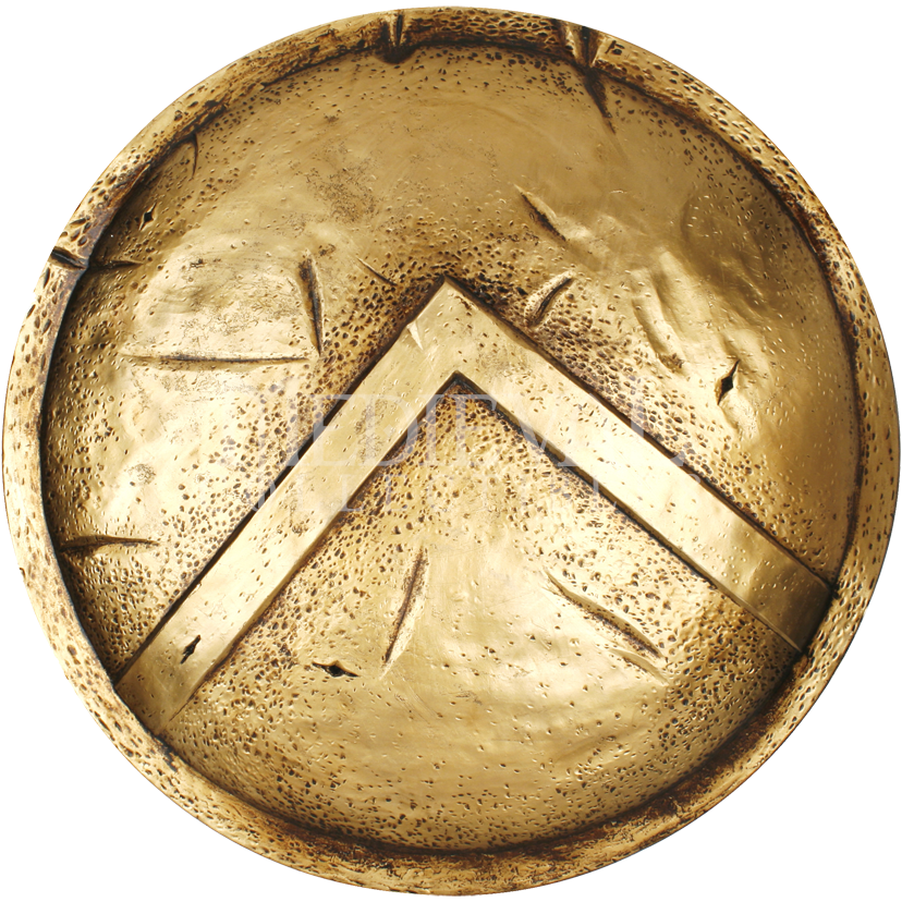 14 Spartan Shield Designs Images