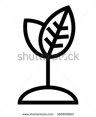 Growing Plant Vector Icon Free