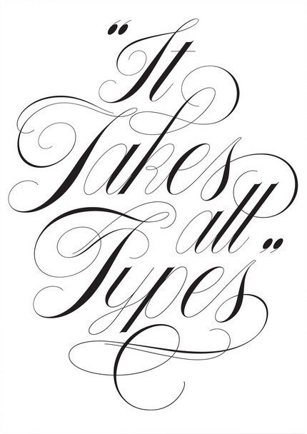 14 Swirls And Swashes Font Images Calligraphy Swirls
